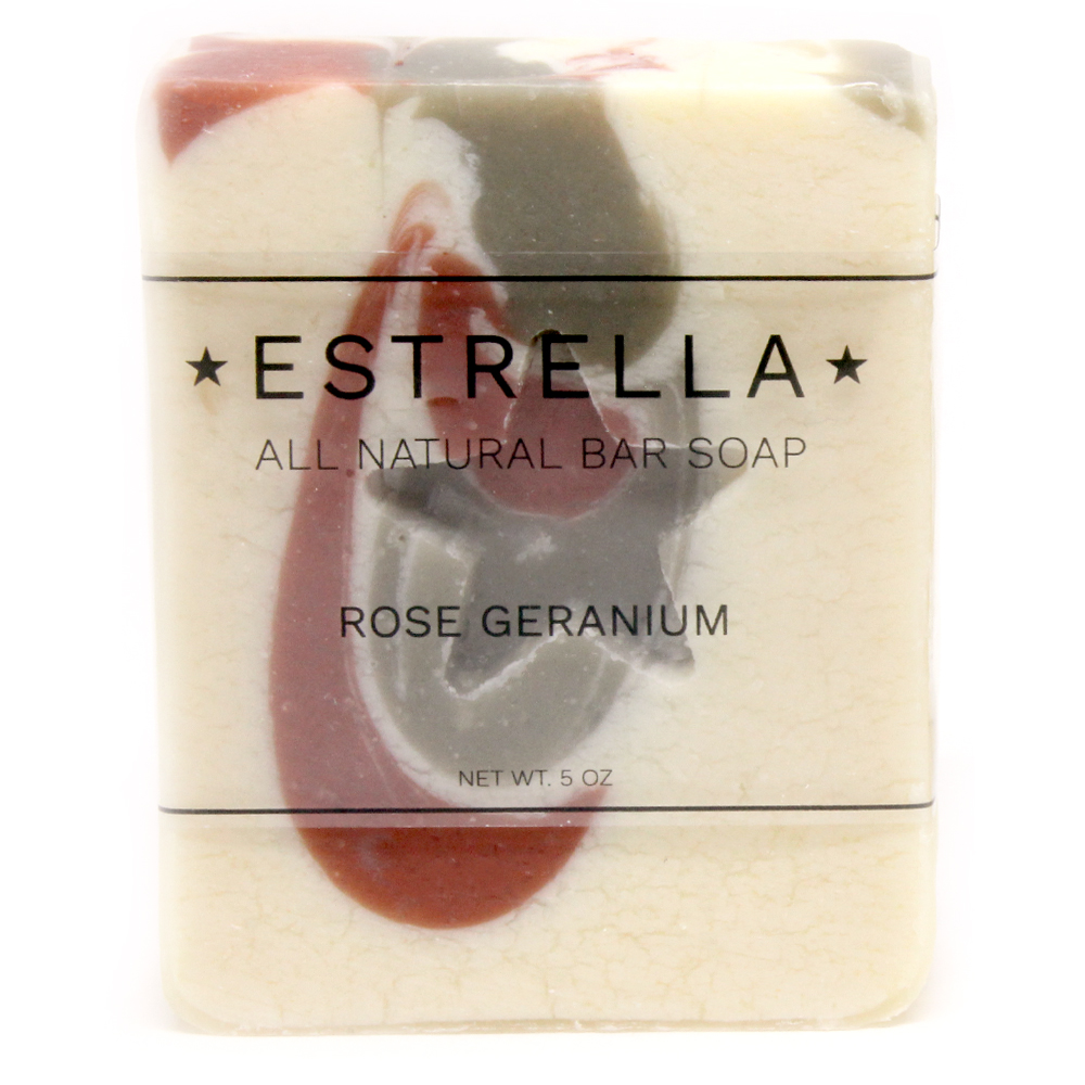 Rose-Geranium-Label