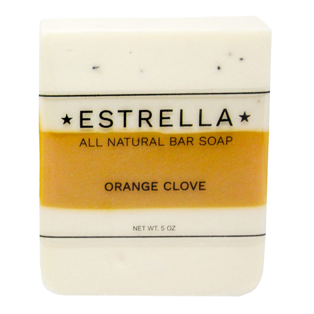 Orange-Clove-Label
